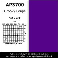 "Apollo Design Technology AP-GEL-3700 Gel Sheet, 20""x24"", Groovy Grape AP-GEL-3700"