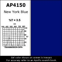 "Gel Sheet, 20""x24"", New York Blue"