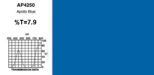 """Apollo Blue"" 20"" x 24"" Gel Sheet"