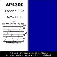 """Gel Sheet, 20""""x24"""", London Blue"""