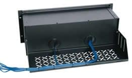 Middle Atlantic Products SH-DMP-EXT  Digital Media Player Rear Accessory Shelf (50 lb. Wt. Cap.) SH-DMP-EXT