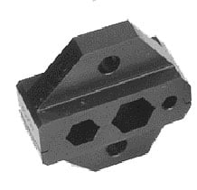 Canare TCD-1DB Crimp Die Set for C1, BNC Sleeve Crimp Only, 1 Each TCD-1DB