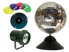 """Mirror Ball Package, 8"""""""