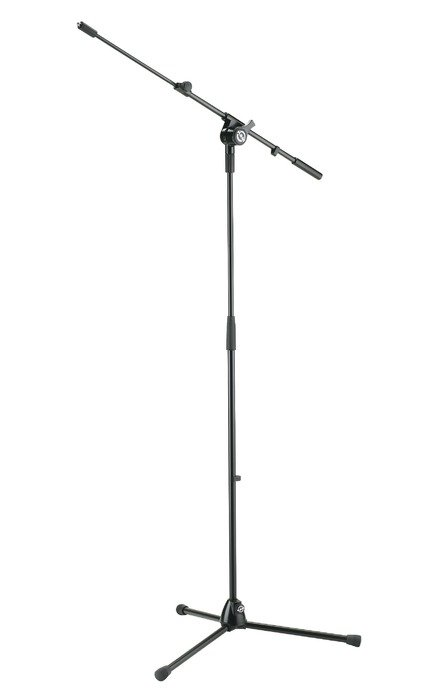 Tripod-Style Microphone Stand with Boom Arm