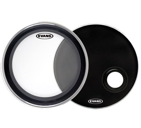 "2-Piece 22"" Bass Drumhead Set"