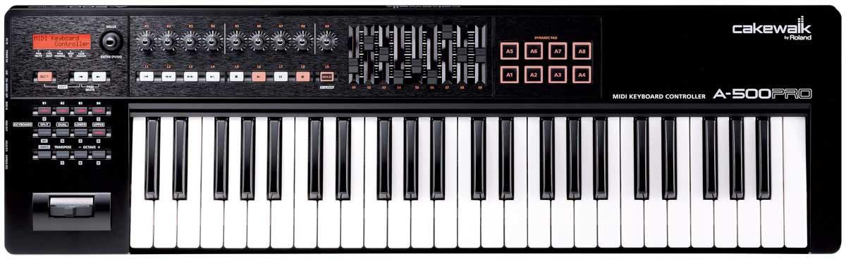 Professional 49-Key USB MIDI Keyboard Controller for Mac or PC