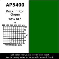 Gel Sheet, 20x24, Rock`n Roll Green