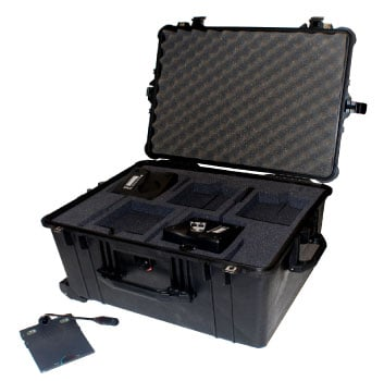 10-unit Portabel Conferencing Mic Storage/Carrying Case