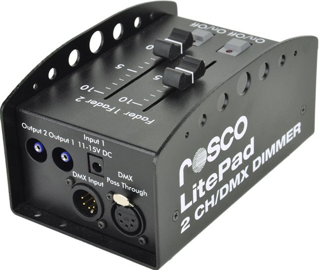 2-Channel DMX Dimmer for Litepad