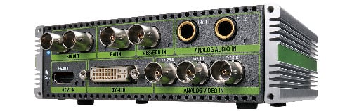 Any In to SDI Multi-Functional Converter w/ Frame Synchronizer