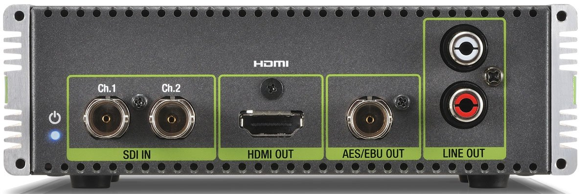 2X SDI to HDMI Converter/Multiplexer with 3D Support