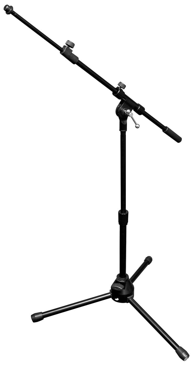 Vu Mst100 10b Short Microphone Stand With Telescopic Boom