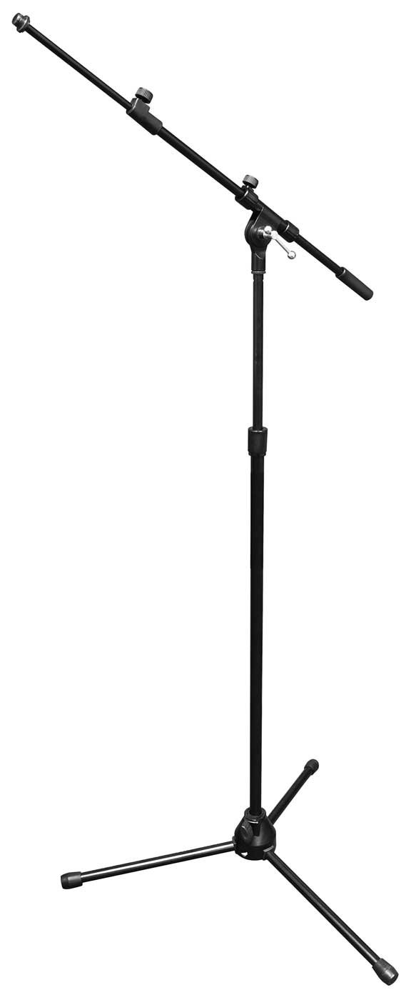 Vu MST100-30B Standard Height Microphone Stand with Telescopic Boom Arm MST100-30B