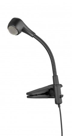 Dynamic Hypercardioid Clipon Mic