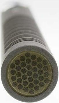"9"" Digital Short Shotgun Microphone in Nextel Black Finish with Case and Windscreen"