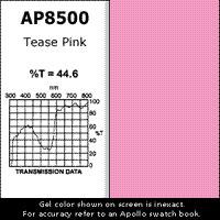 "Gel Sheet, 20""x24"", Tease Pink"