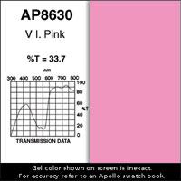 """Gel Sheet, 20""""x24"""", V.I.Pink"""