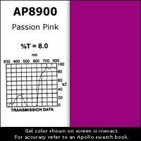 """Gel Sheet, 20""""x24"""", Passion Pink"""
