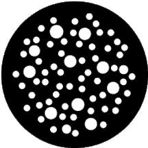 Large Dot Breakup Large Gobo