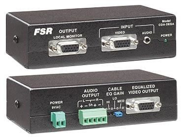Distribution Amp VGA 1in/2out with EQ and Audio