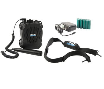 RescueMan Basic Package w/Mic, Battery and Charger