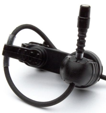 B2 Lavalier Microphone for Shure wireless, Light Beige