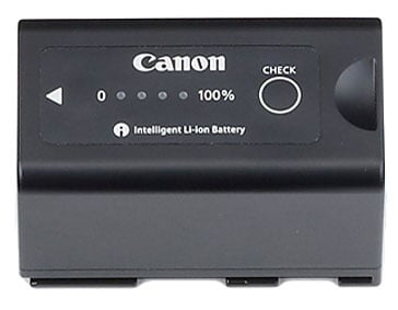 5200 mAh Lithium-Ion Battery for Canon XF Series Camcorders