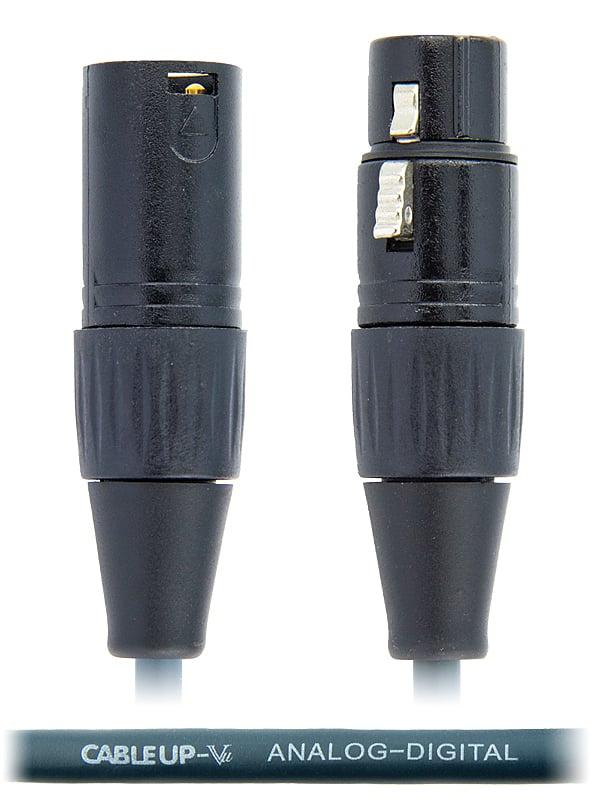 30 ft Analog/Digital AES/EBU Balanced XLR Microphone Cable