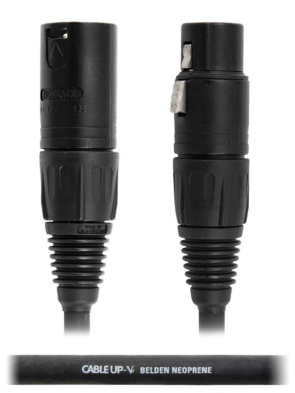 20 ft Neutrik XLR NC3FX Microphone Cable