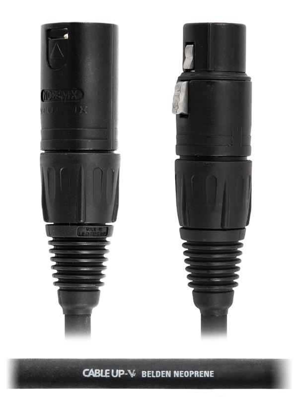 30 ft Neutrik XLR NC3FX Microphone Cable