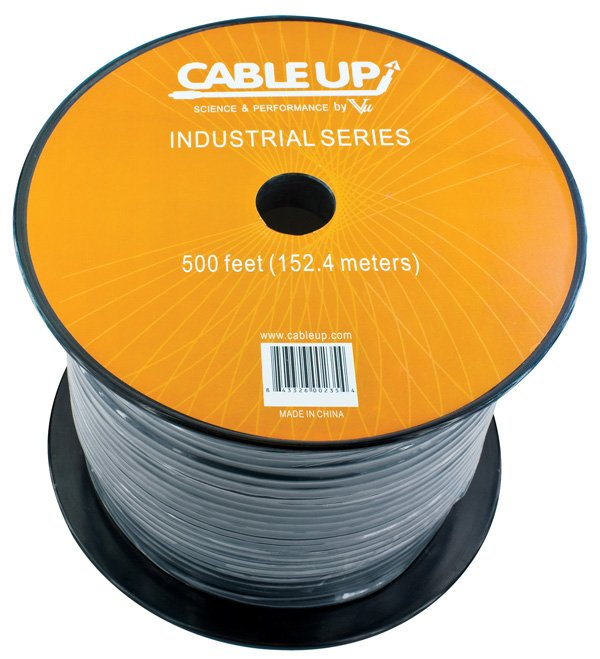 500 ft Spool of 75 Ohm Video Cable