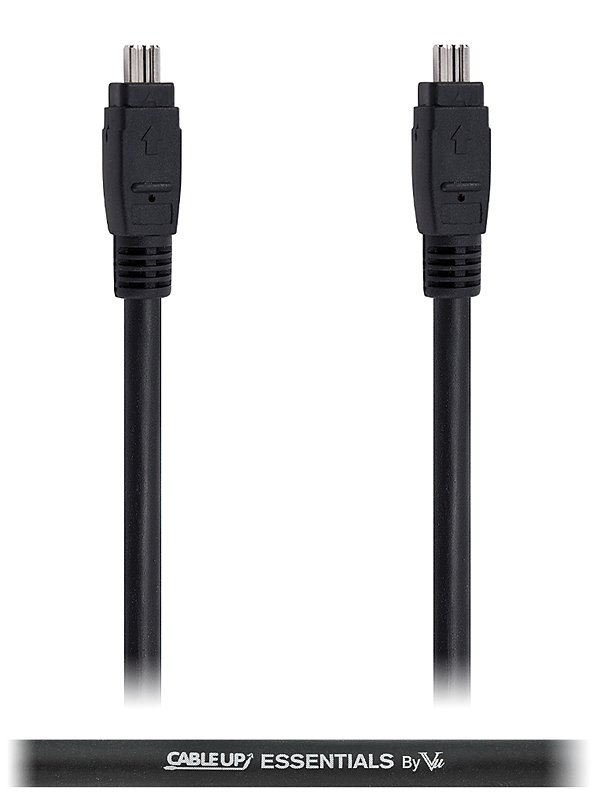 3 ft 4-Pin to 4-Pin IEEE 1394 FireWire 400 Cable