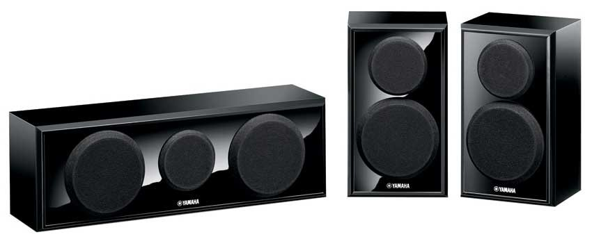 3 Speaker System Package