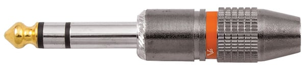 "1/4"" TRS Male Connector"