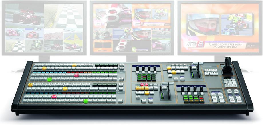 Blackmagic Design Atem 2 Me Broadpanel Control Panel For Atem Live Production Switchers Full Compass Systems