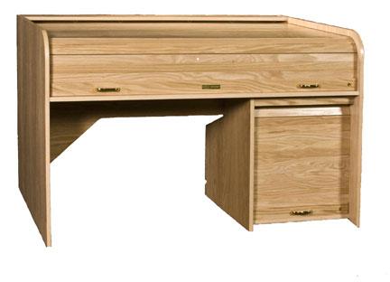 Extended Rolltop Desk