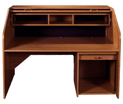 High Rise Extended Rolltop Desk