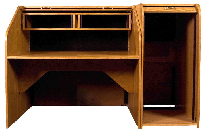 High Rise Standard Rolltop Desk