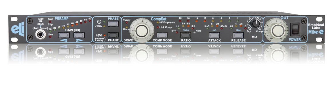 Microphone Preamplifier, digitally-controlled