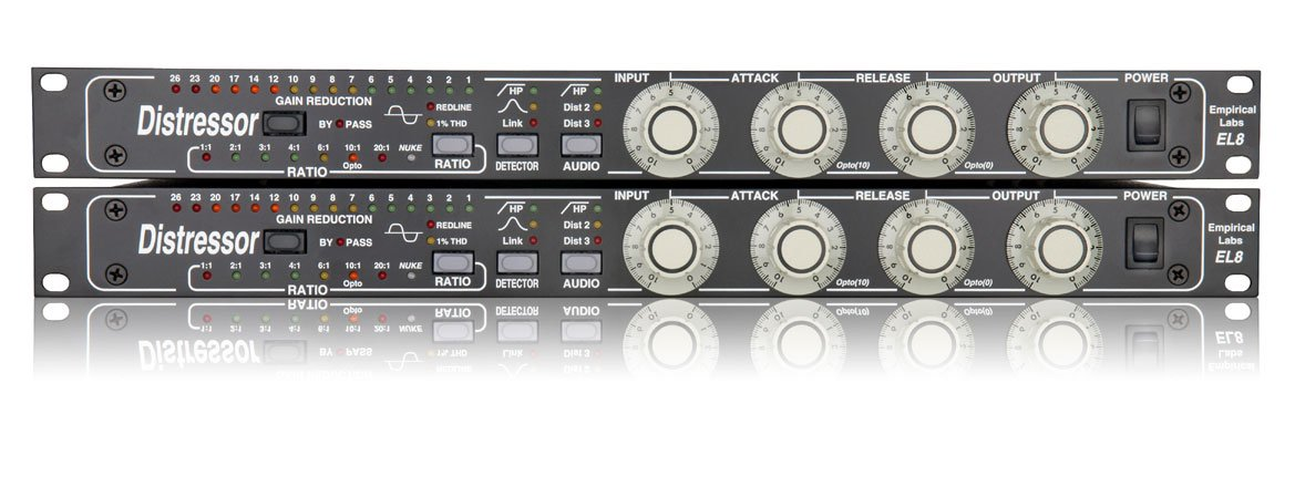 Stereo Pair / Dual Channel EL8 Distressor (2 units sold as one pair)
