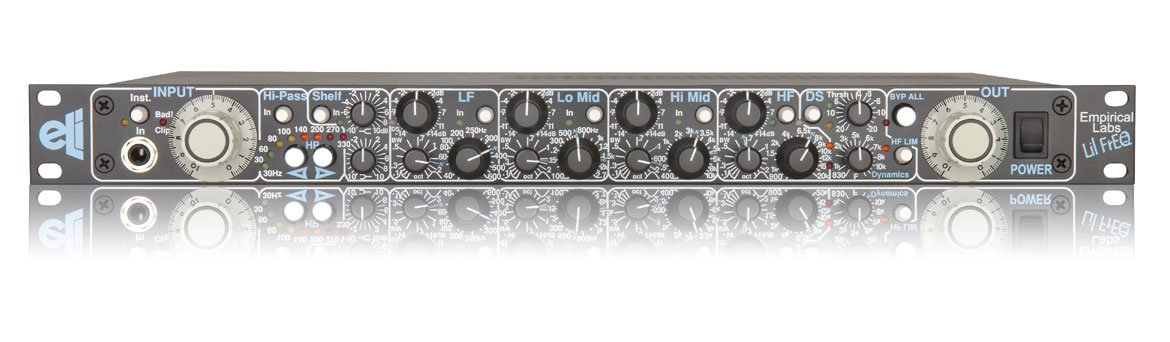 Equalizer, single channel, 4-band