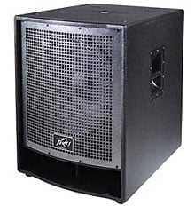 "Peavey QW118 QW Series Enclosure with 18"" Woofer, 4"" Voice Coil QW118"