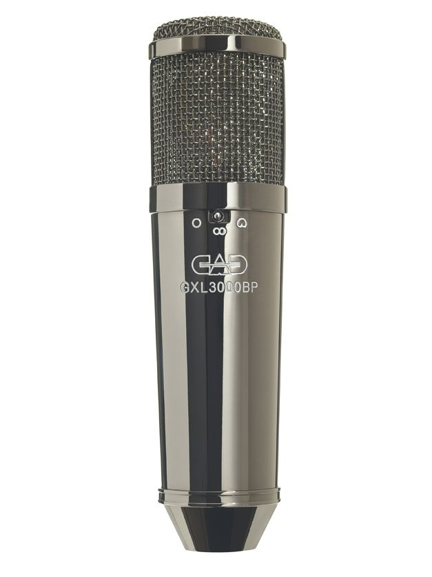 Large Diaphragm Multi-Pattern Condenser Microphone in Black Pearl Finish