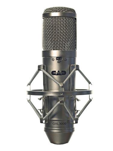 Large Diaphragm Multi-Pattern Condenser Microphone