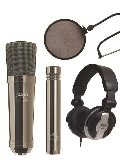 CAD Audio GXL2200BPSP Multipattern Mic, Black Pearl GXL2200BPSP