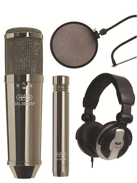 Large Diaphragm Multi-Pattern Condenser Microphone Kit with GXL1200 Cardoid Condenser