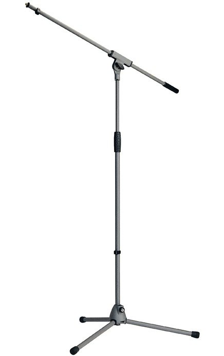 Microphone Boom Stand in Gray Finish