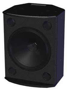 """15"""" Speaker Black, 8001-6390"""