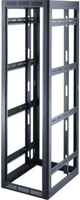 """40-Space, 25-3/4"""" Deep Rack with Rear Door"""