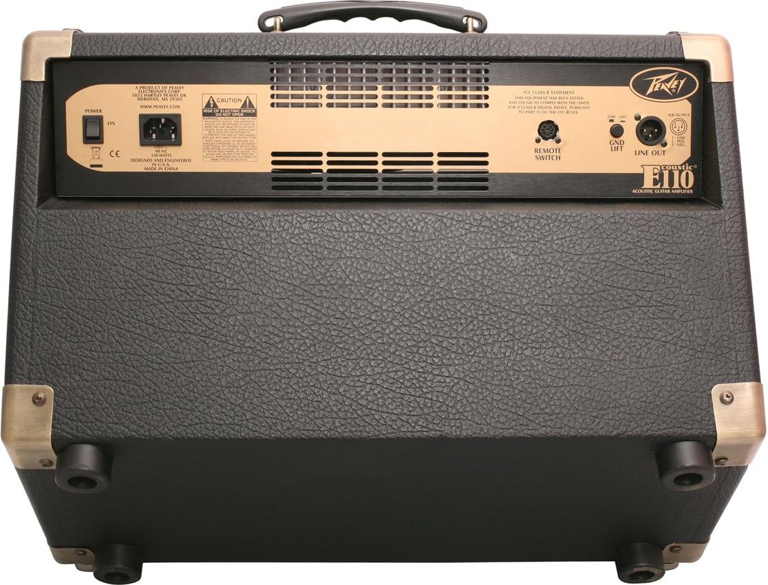 """2-Ch 100W 1x10"""" Acoustic Guitar Amplifier"""